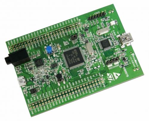 TransferJet Software licence running on STM32F4 Discovery platform